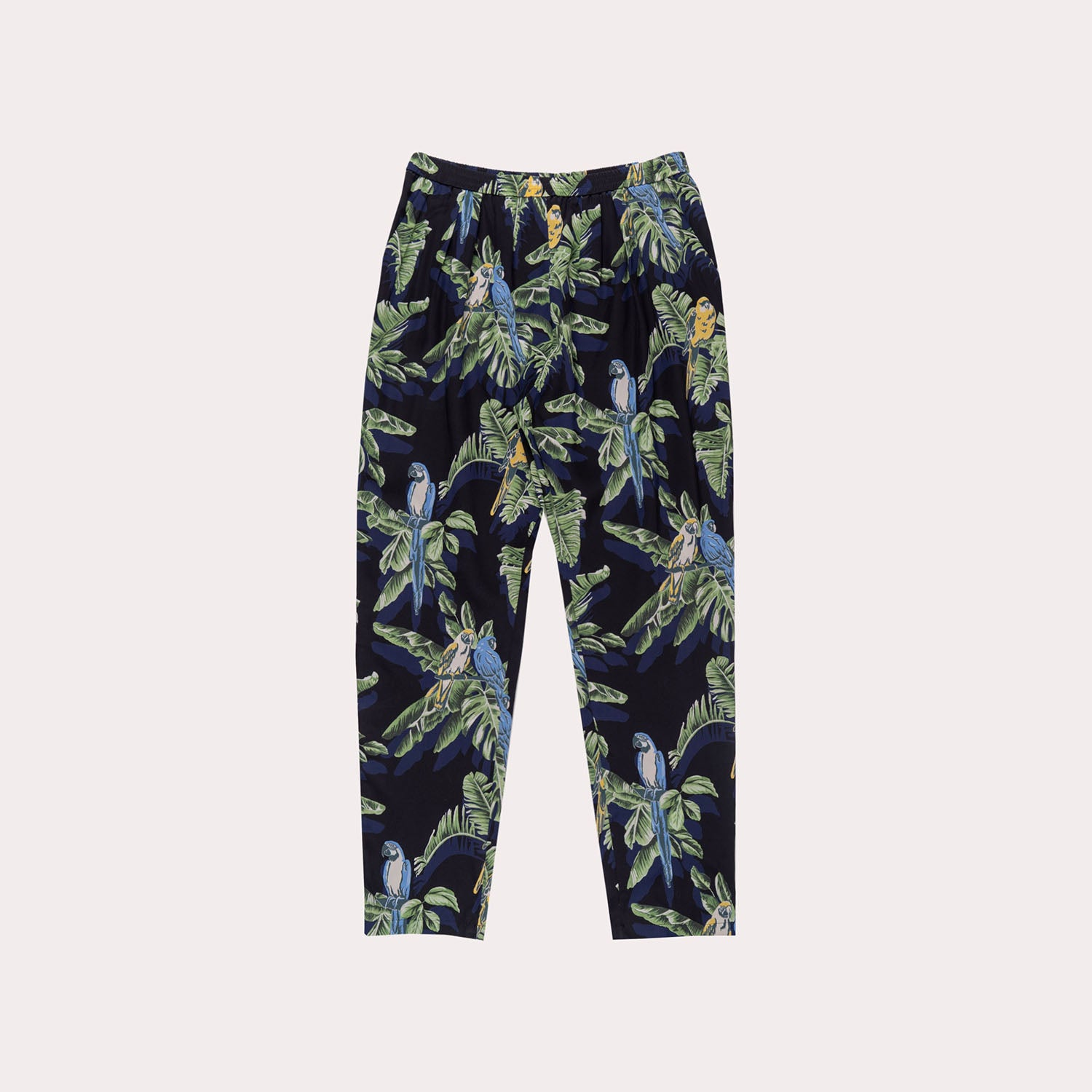 Tropical Silk Pants