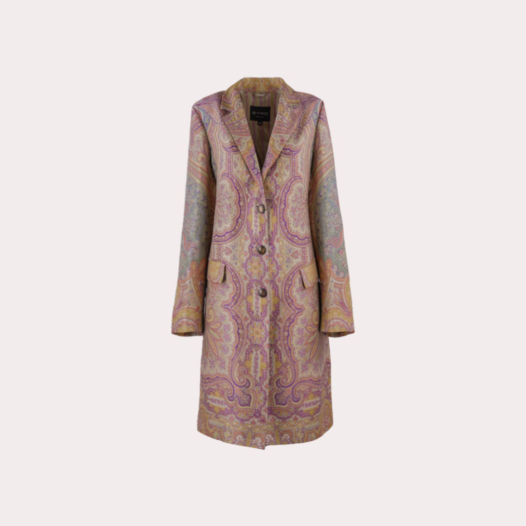 Paisley Print Duster