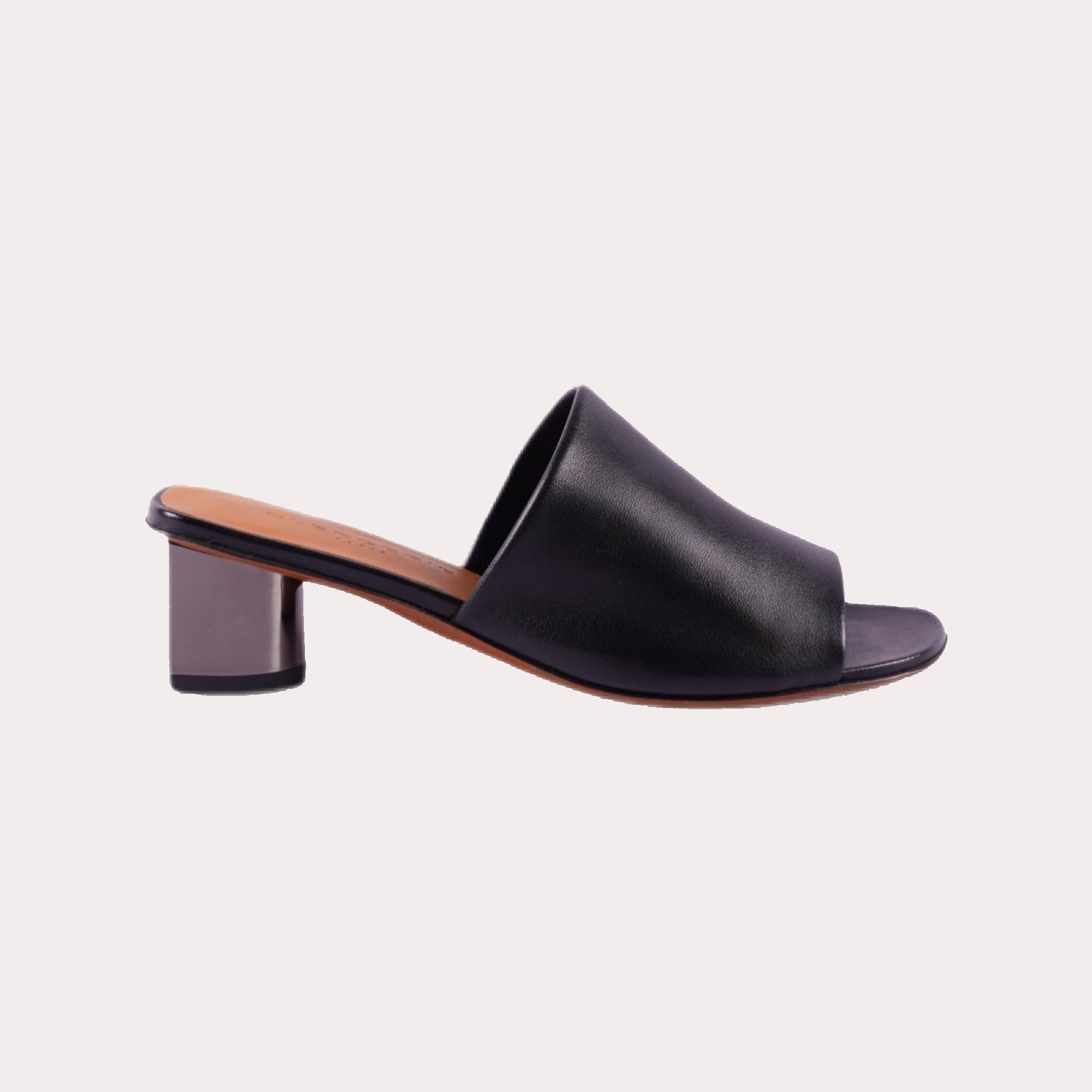 Lea Leather Mules