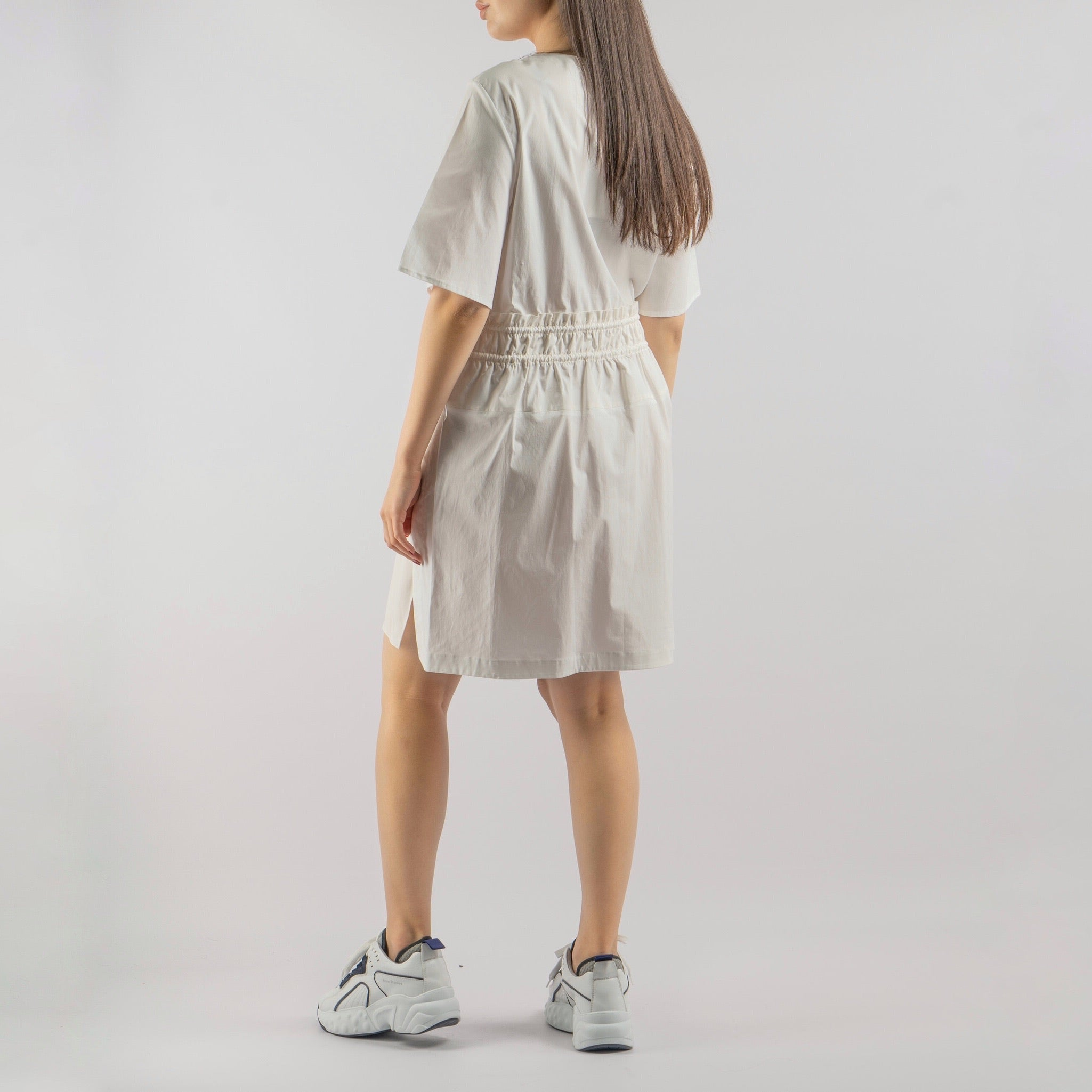 Wrap Dress with Mid-Length Sleeves