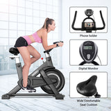 Indoor Exercise Bike With Monitor