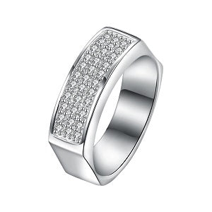 Iced-Out-Silver-Plated-CZ-Ring