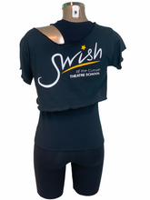 Load image into Gallery viewer, Swish Dance Cropped Top
