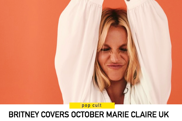 Britney for Marie Claire UK