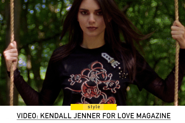 Watch: Kendall Jenner in