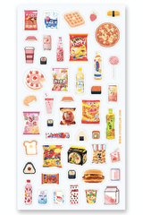 Pixel Snacks Sticker Set
