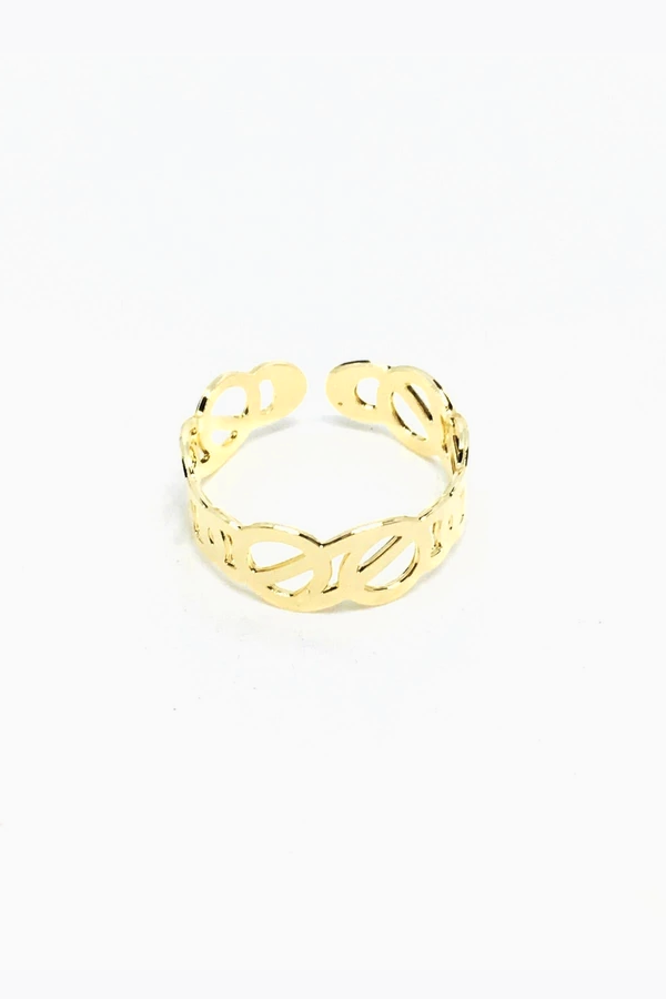 18K Interwined Ring