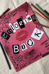 Unofficial Mean Girls Colouring Book