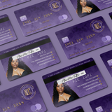Credit Card Style Plastic Business Cards (Design & Print)