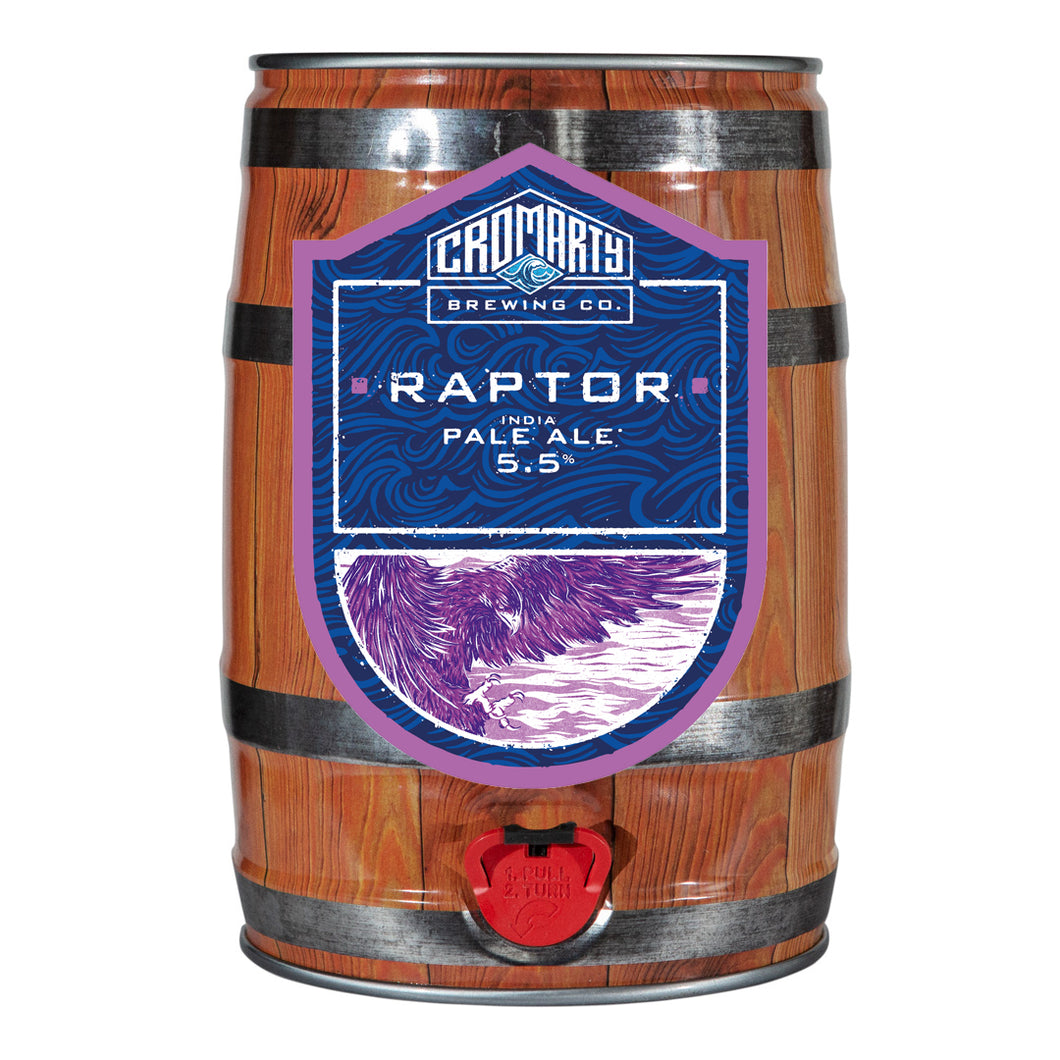 Raptor Party keg