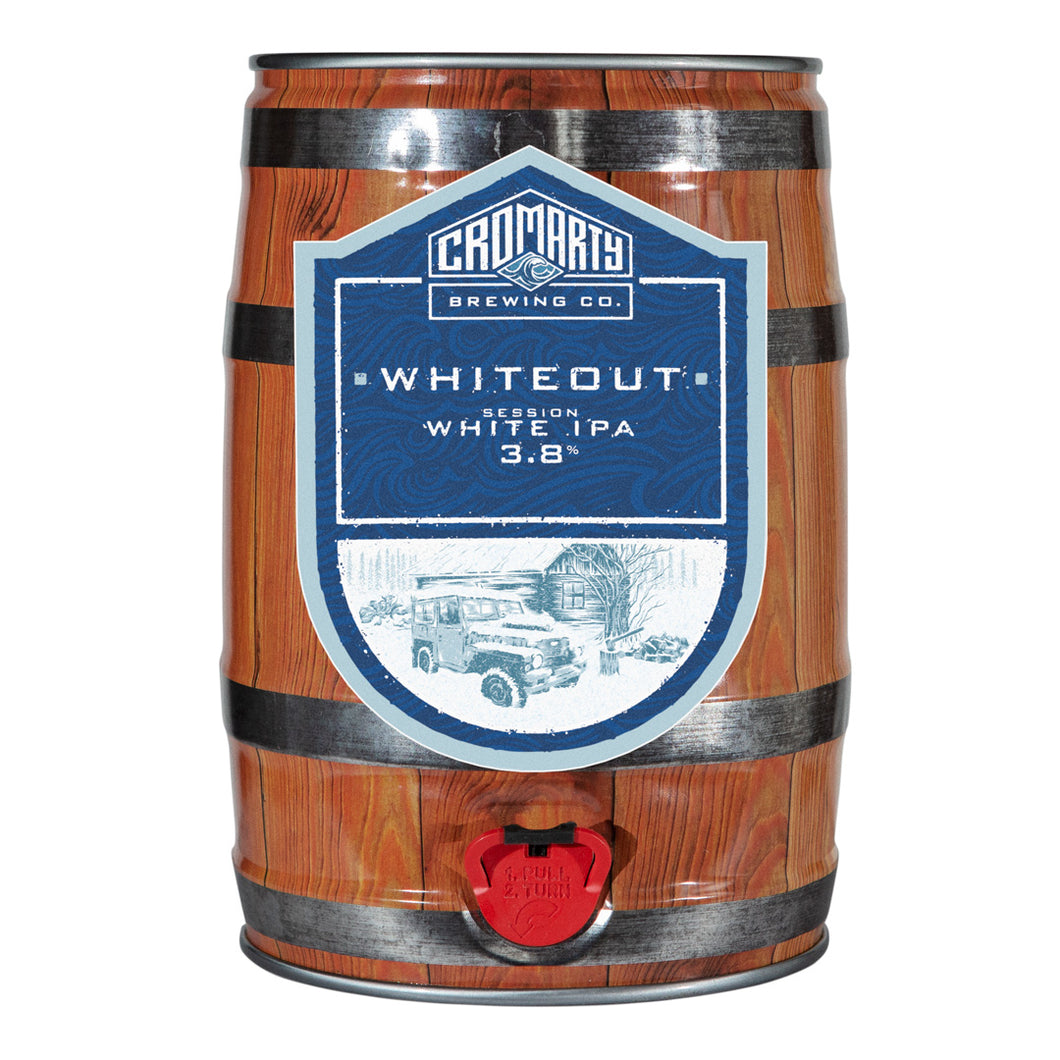 Whiteout Party keg