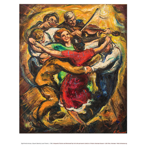 Poster - Eight Hands Square Dance