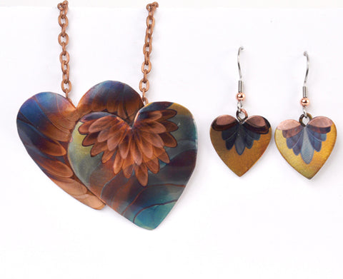 Gypsy Phoenix - Copper Heart Jewelry