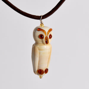 Black River Beads - Glass Owl Pendant