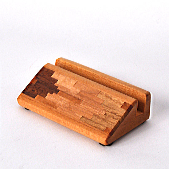Doug Stowe - Wooden Inlaid Cardholder