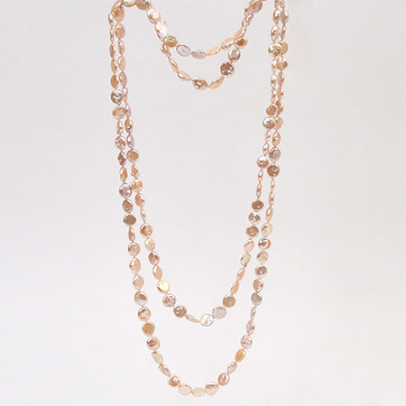 Just for Pearls - Coin Pearl Necklace