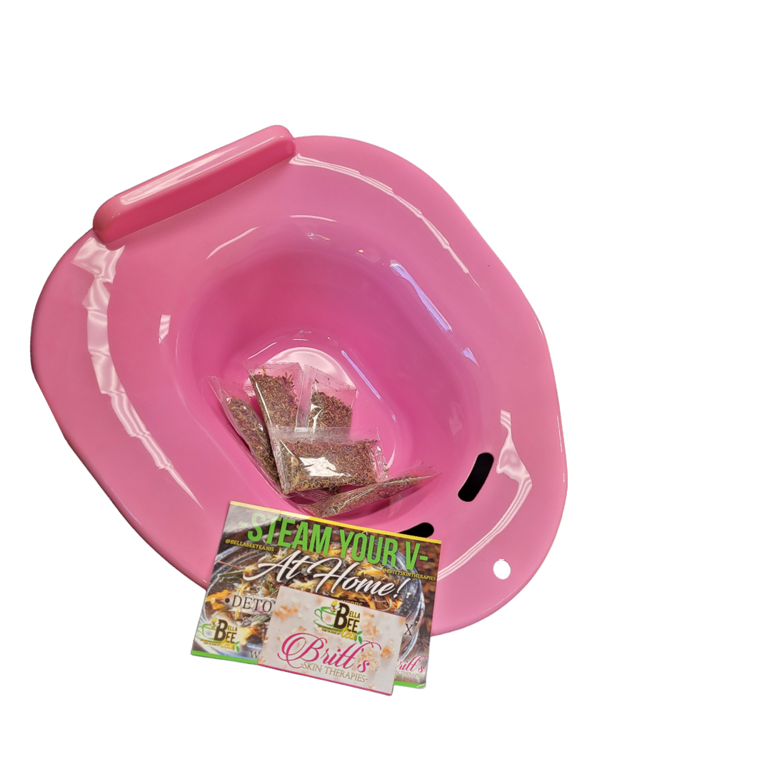 5 V-Steam & Pink Yoni Bowl Kit