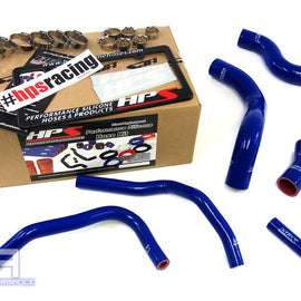 HPS Silicone Radiator Heater Hose Kit For 86 FRS BRZ 2.0L 4UGSE FA20 13-14 Blue