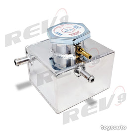 Rev9 Aluminum Coolant Overflow Tank *Small* for WRX STi 02-07 Forester XT 04-08