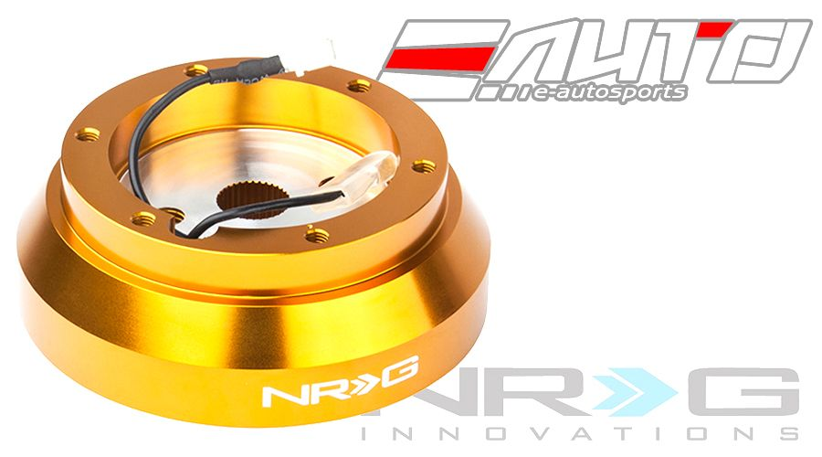 NRG Gold Steering Wheel Short Hub Boss for 200sx 240sx 300zx Altima Maxima