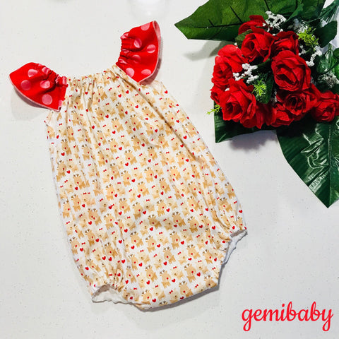 Reindeer Love Playsuit *Christmas Special*