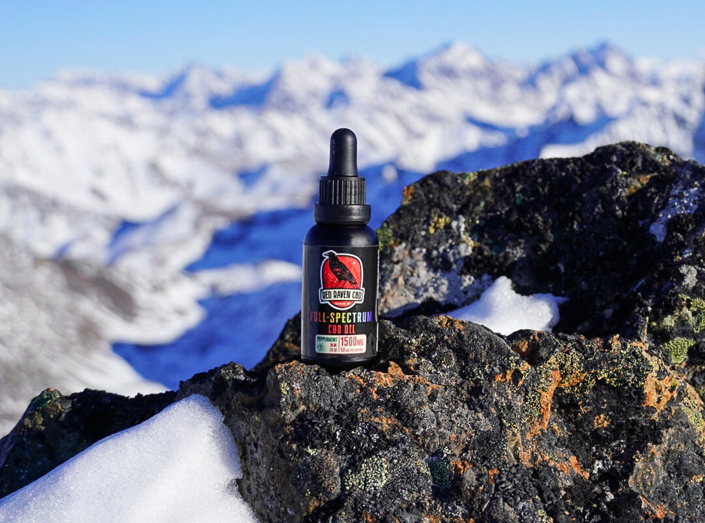 CBD oil can be either full spectrum, or THC isolate