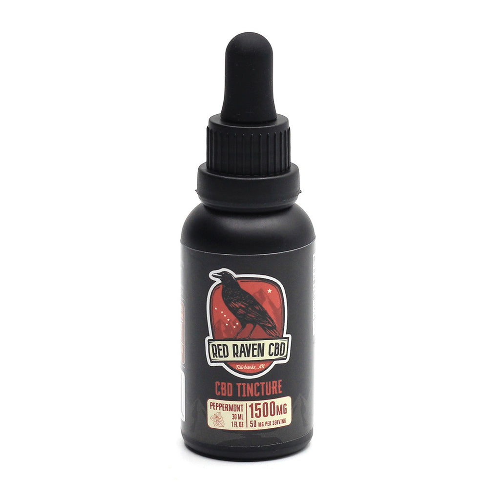 Red Raven CBD for People combines powerful levels of hemp CBD in Alaska with natural peppermint oil and MCT, for a refreshing and simple way to get your daily dose. Each dropper contains a full 50mg of CBD. Hold under your tongue for 60-90 seconds for maximum absorption.