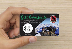 Open image in slideshow, Red Raven CBD Gift Card