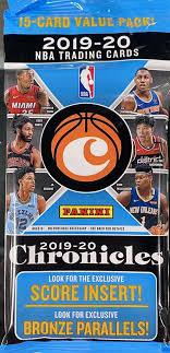 2019-20 Chronicles Basketball Fat Pack