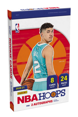 2020-21 NBA Hoops Basketball Hobby Box