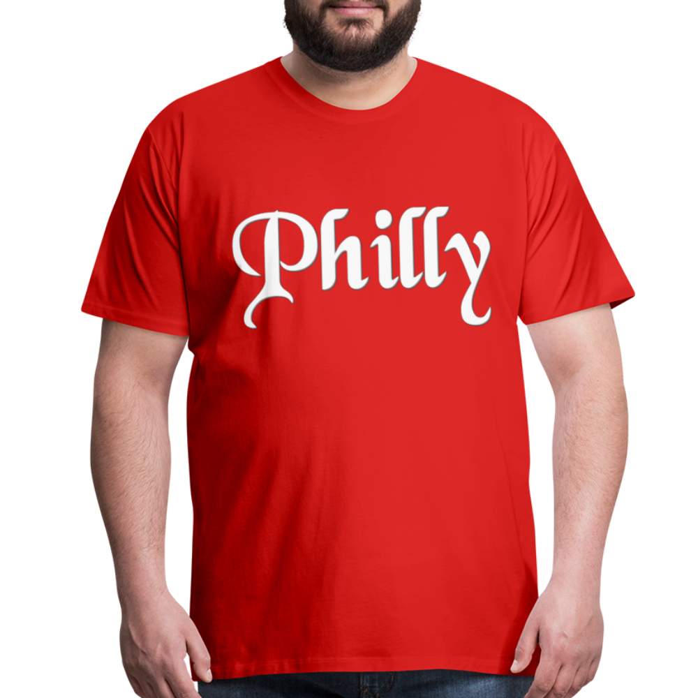 Philly T-Shirt - red