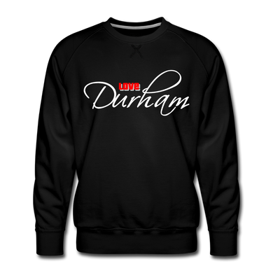 Love Durham Sweatshirt - black