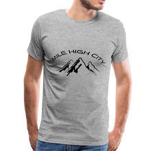 Load image into Gallery viewer, Mile High City T-Shirt - heather gray