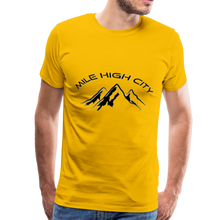 Load image into Gallery viewer, Mile High City T-Shirt - sun yellow