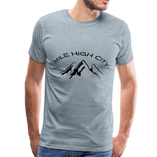 Load image into Gallery viewer, Mile High City T-Shirt - heather ice blue