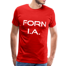 Load image into Gallery viewer, FORN I.A. T-Shirt - red