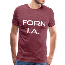 Load image into Gallery viewer, FORN I.A. T-Shirt - heather burgundy