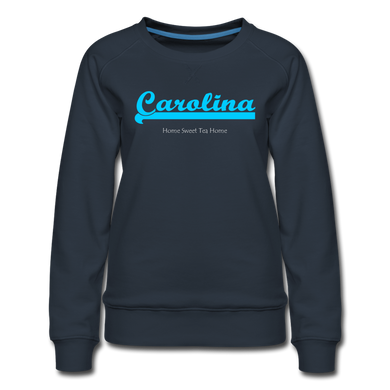 Carolina Home Sweet Tea Home Women's Sweatshirt - navy
