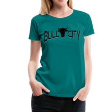 Load image into Gallery viewer, Bull City Women's T-Shirt - teal