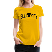 Load image into Gallery viewer, Bull City Women's T-Shirt - sun yellow
