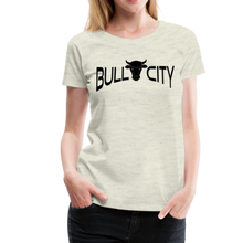 Load image into Gallery viewer, Bull City Women's T-Shirt - heather oatmeal