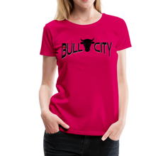 Load image into Gallery viewer, Bull City Women's T-Shirt - dark pink