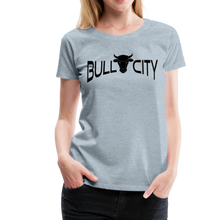 Load image into Gallery viewer, Bull City Women's T-Shirt - heather ice blue