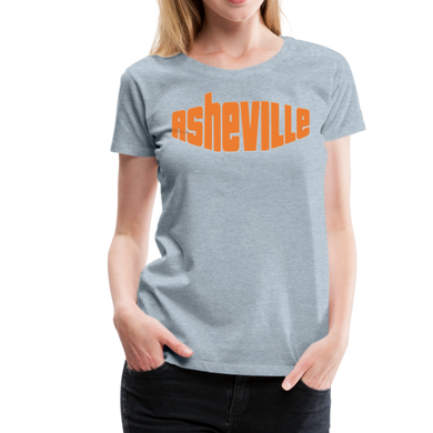 Asheville Women's T-Shirt - heather ice blue