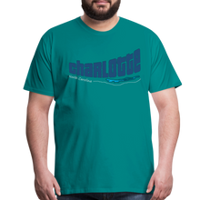 Load image into Gallery viewer, Charlotte North Carolina Men's T-Shirt - teal
