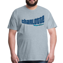 Load image into Gallery viewer, Charlotte North Carolina Men's T-Shirt - heather ice blue