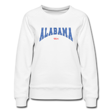 Load image into Gallery viewer, Alabama USA Women's Sweatshirt - white