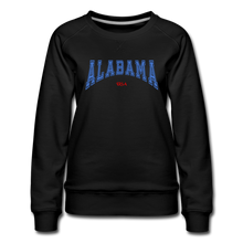 Load image into Gallery viewer, Alabama USA Women's Sweatshirt - black