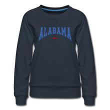 Load image into Gallery viewer, Alabama USA Women's Sweatshirt - navy