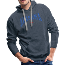 Load image into Gallery viewer, Alabama USA Men's Hoodie - heather denim